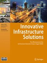 Innovative Infrastructure Solutions template (Springer)