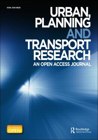 Urban, Planning and Transport Research template ( Planning and Transport Research)