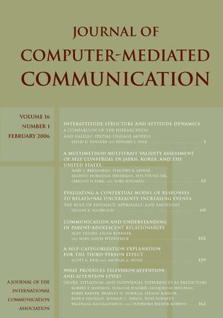 Journal of Computer-Mediated Communication template (Wiley)