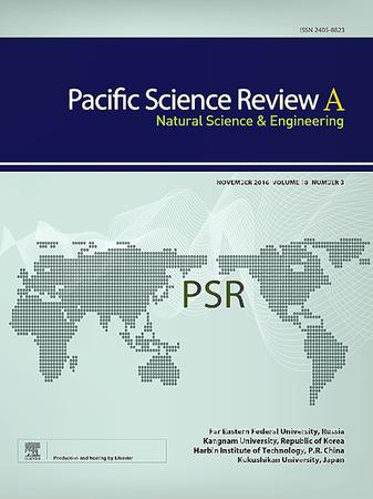 Pacific Science Review A: Natural Science and Engineering template (Elsevier)