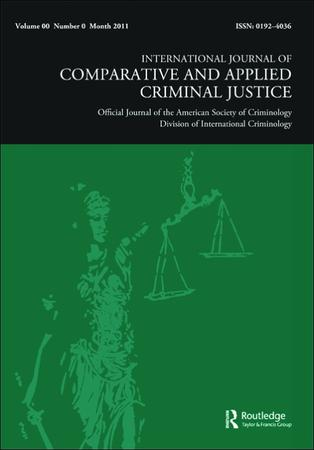 International Journal of Comparative and Applied Criminal Justice template (Taylor and Francis)