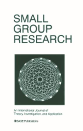 Small Group Research template (SAGE)