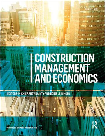 Construction Management and Economics template (Taylor and Francis)