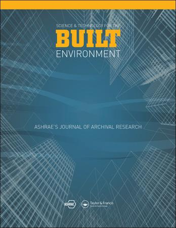 Science and Technology for the Built Environment template (Taylor and Francis)