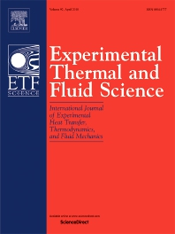 Experimental Thermal and Fluid Science template (Elsevier)