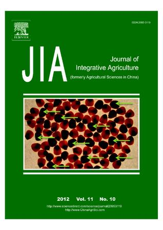 Journal of Integrative Agriculture template (Elsevier)
