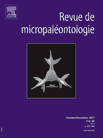 REVUE DE MICROPALEONTOLOGIE
