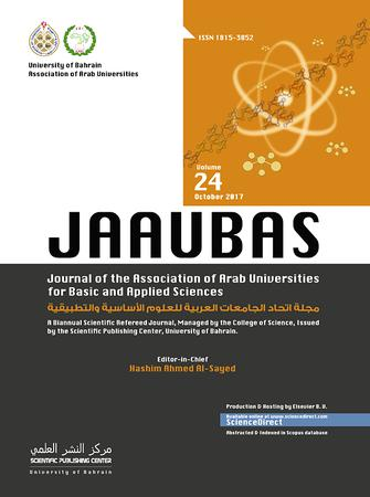 Journal of the Association of Arab Universities for Basic and Applied Sciences template (Elsevier)
