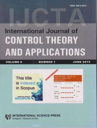 International Journal of Control Theory and Applications template (Serials Publications)
