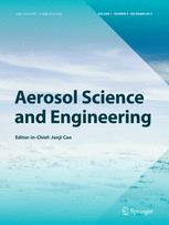 Aerosol Science and Engineering template (Springer)
