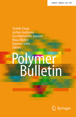 Polymer Bulletin template (Springer)