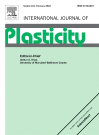 International Journal of Plasticity template (Elsevier)