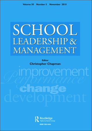 School Leadership and Management template (Taylor and Francis)