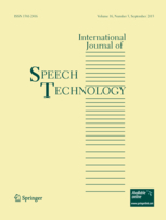 International Journal of Speech Technology template (Springer)