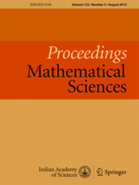 Proceedings - Mathematical Sciences template (Indian Academy of Sciences)