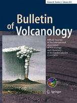 Bulletin of Volcanology template (Springer)