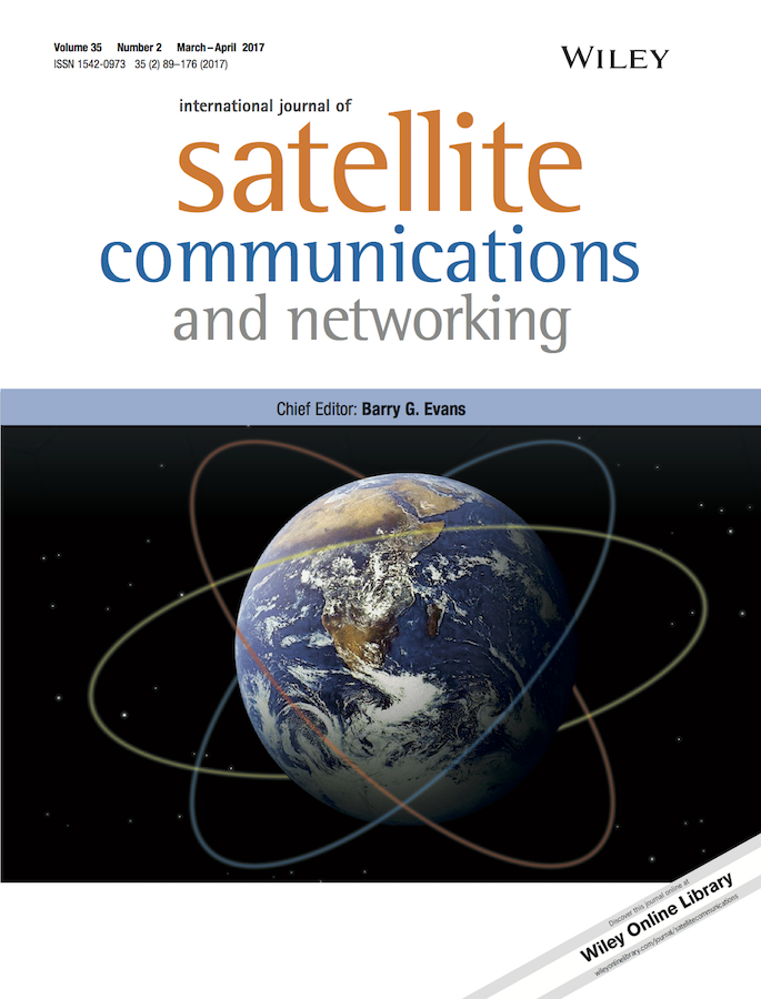 International Journal of Satellite Communications and Networking template (Wiley)