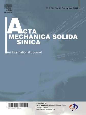 Acta Mechanica Solida Sinica template (Elsevier)