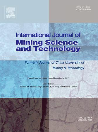 International Journal of Mining Science and Technology template (Elsevier)