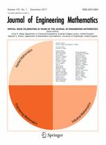 Journal of Engineering Mathematics template (Springer)
