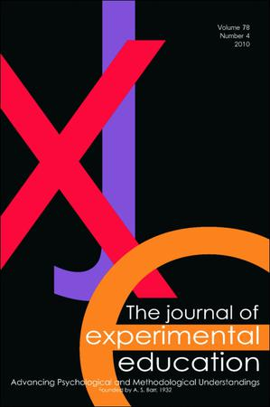 The Journal of Experimental Education template (Taylor and Francis)