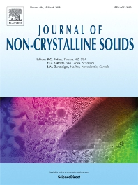 Journal of Non-Crystalline Solids template (Elsevier)