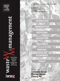 Waste Management template (Elsevier)