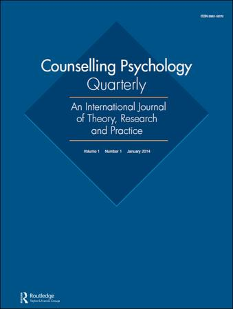 Counselling Psychology Quarterly template (Taylor and Francis)