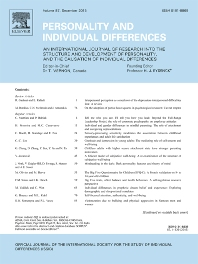Personality and Individual Differences template (Elsevier)