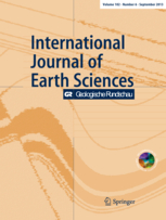 International Journal of Earth Sciences template (Springer)