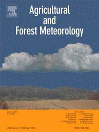 Agricultural and Forest Meteorology template (Elsevier)