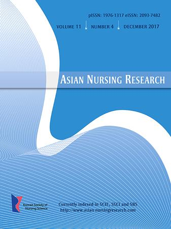 Asian Nursing Research template (Elsevier)