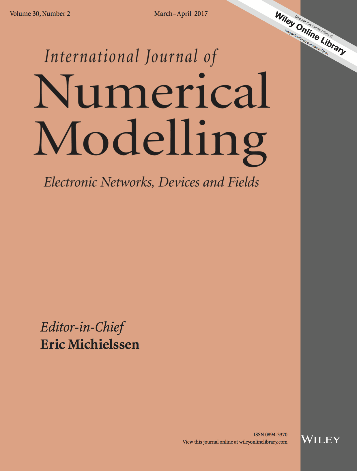 International Journal of Numerical Modelling: Electronic Networks, Devices and Fields template ( Devices and Fields)