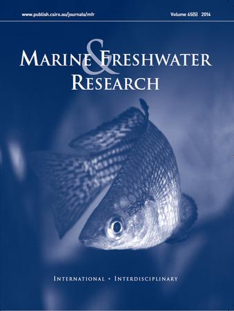 Marine and Freshwater Research template (CSIRO Publishing)