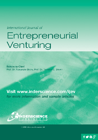International Journal of Entrepreneurial Venturing template (Inderscience Publishers)