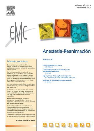EMC - Anestesia-Reanimación template (Elsevier)