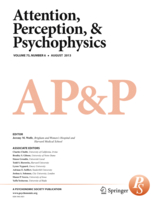 Attention, Perception, & Psychophysics template ( Perception)