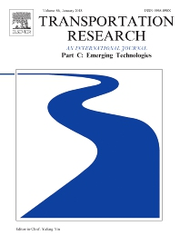 Transportation Research Part C: Emerging Technologies template (Elsevier)
