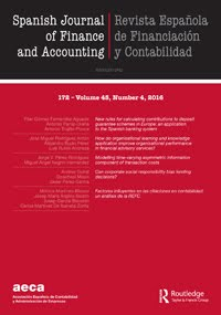 Spanish Journal of Finance and Accounting / Revista Española de Financiación y Contabilidad template (Taylor and Francis)