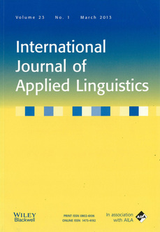 International Journal of Applied Linguistics template (Wiley)
