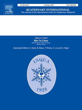 Quaternary International template (Elsevier)