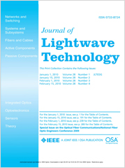 Journal of Lightwave Technology template (IEEE)