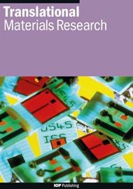 Translational Materials Research template (IOP Publishing)