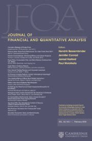 Journal of Financial and Quantitative Analysis template (Cambridge University Press)