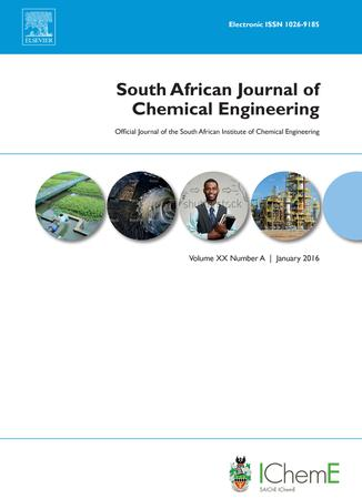 South African Journal of Chemical Engineering template (Elsevier)