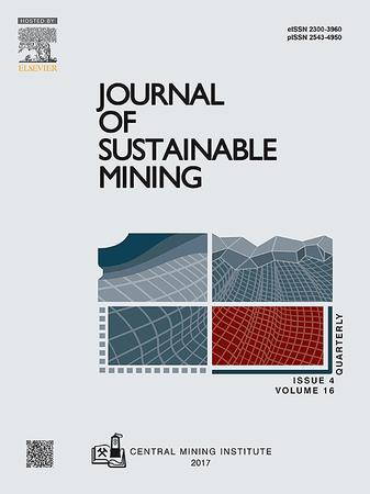 Journal of Sustainable Mining template (Elsevier)