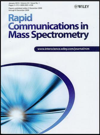 Rapid Communications in Mass Spectrometry template (Wiley)