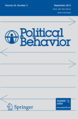 Political Behavior template (Springer)