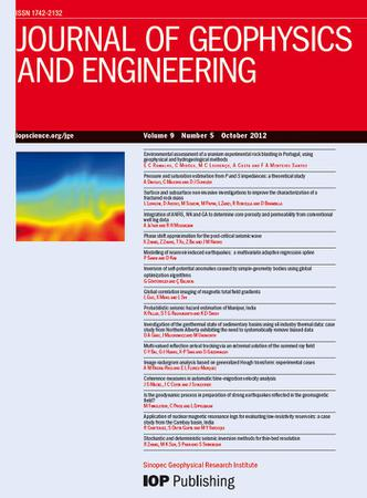 Journal of Geophysics and Engineering template (IOP Publishing)