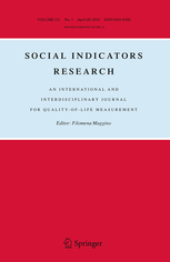 Social Indicators Research template (Springer)
